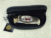 FRANKLIN MINT COLLECTORS KNIFE SINGLE DEER DESIGN